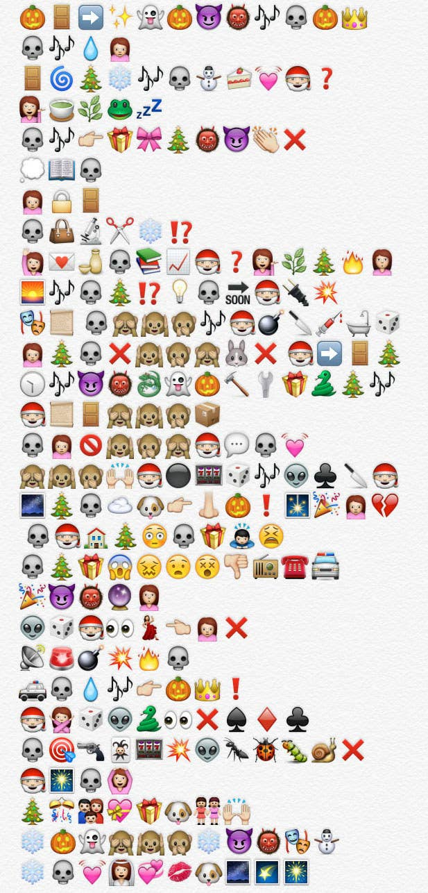 The Nightmare Before Christmas, Retold By Emojis