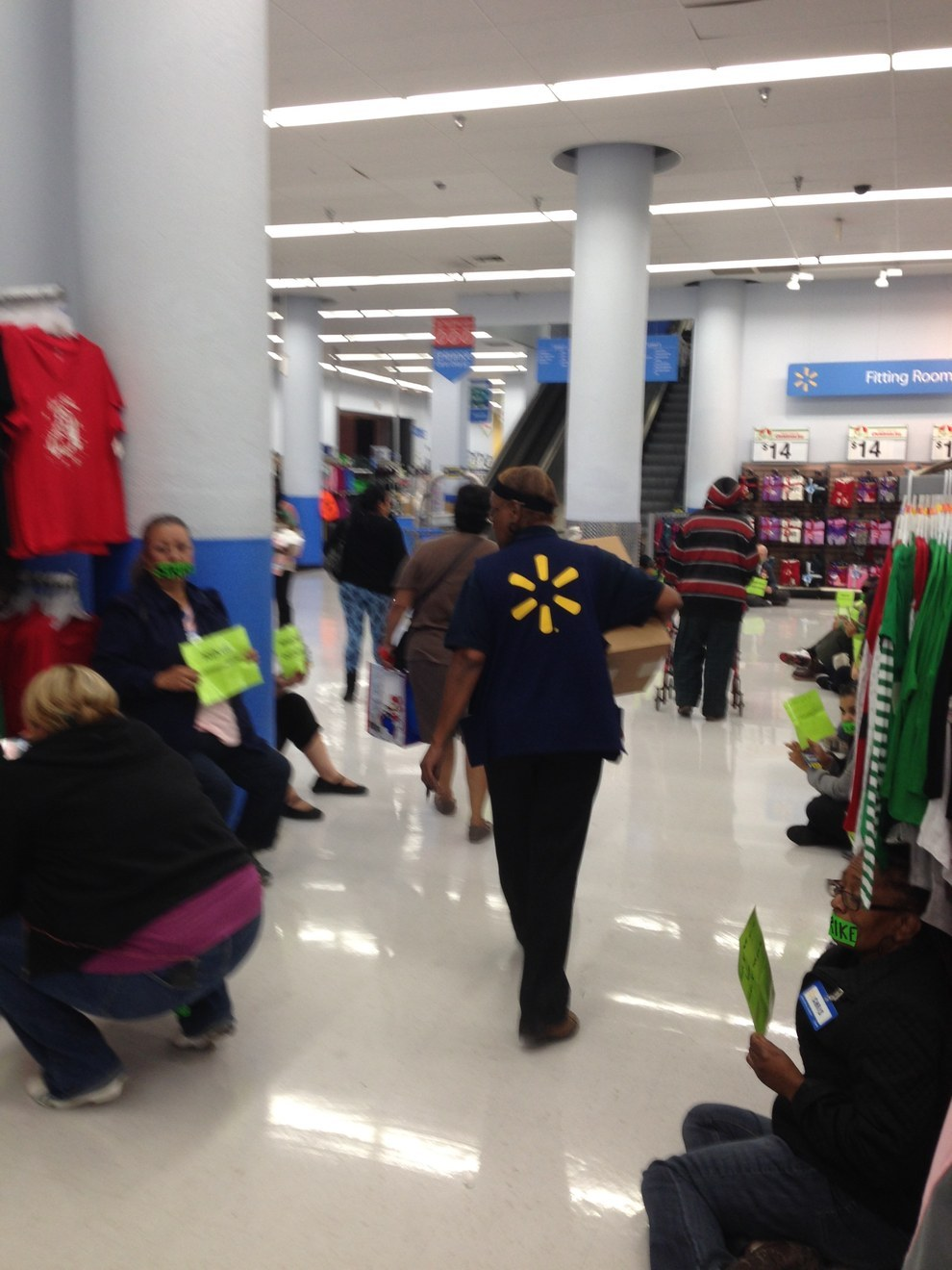 Walmart Workers Stage Sit-In At California Store Ahead Of ...