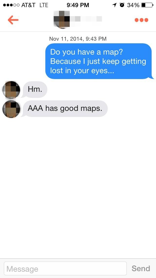 Cringe chat up lines