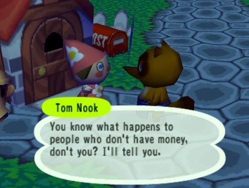 how to pay off animal crossing loan