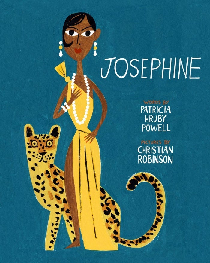 A portrait of Josephine Baker told in verse by Patricia Hruby Powell (and splendidly illustrated by Christian Robinson).What kind of reader is it for? Anyone interested in learning about the performer and civil rights advocate who was both a spectacle and an inspiration.Find it here.