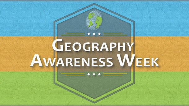 GIS Day is part of Geography Awareness Week--a time to think about places, people, and interrelationships. GIS is a tool that makes it easier for people to understand our world and their place in it.