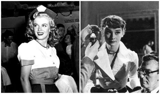marilyn vs audrey One of the most iconic supermodels of our time is now tackling some of the most iconic roles of all time that's right, our fave girl boss.