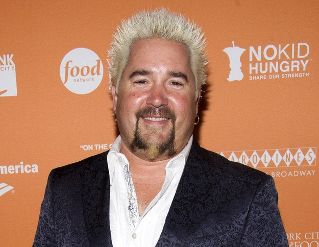 Guy Fieri Witut His Trademark Hair Will Forever Change You