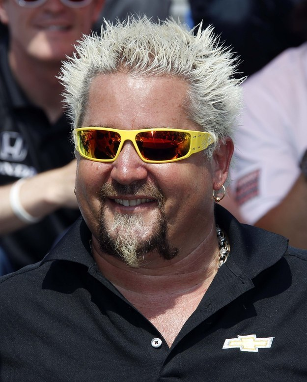 Guy Fieri Without His Trademark Hair Will Forever Change You