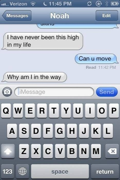 The 32 funniest text messages of all time 21 the most conscientious stoner of all time m4hsunfo