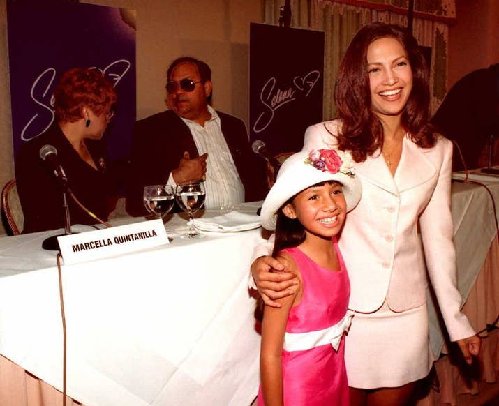 An Estimated 22000 Actresses Were Screened For The Role Of Selena Quintanilla Eventually Jennifer Lopez Was Selected With 9 Year Old Becky Lee Meza