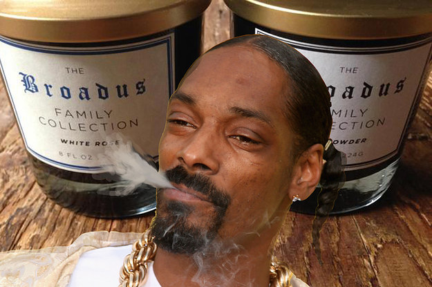 Snoop Dogg Made A Candle And It Doesn T Smell Like Weed