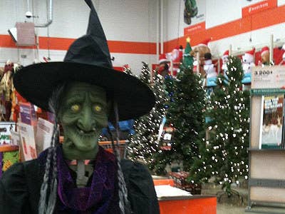 I'd hate to see what Witchy Claus leaves under your tree.
