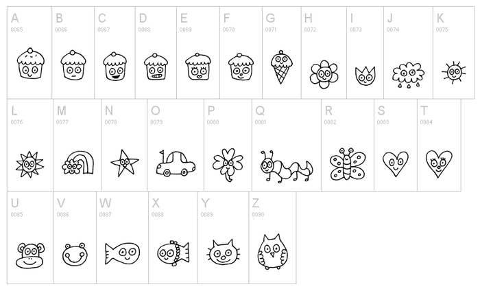 30 Free Dingbat Fonts You Should Download Immediately