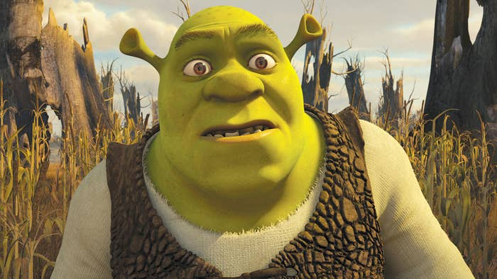 (Technically, an ogre, but let's just be chill about it.)