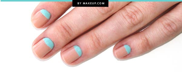 A couple coats of polish, a little tape and — voilà! — you've reinvented your hands.