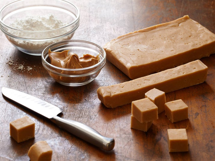 This peanut butter fudge has four ingredients and they're probably all already in your pantry. Recipe here.