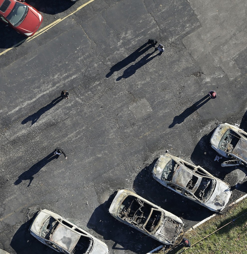 Haunting Aerial Photos Of Ferguson The Day After The Grand