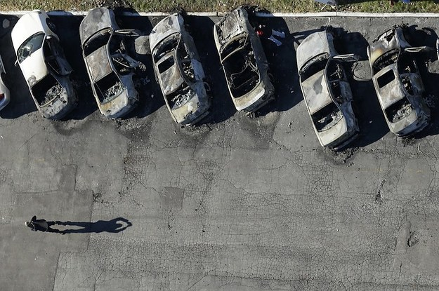 Haunting Aerial Photos Of Ferguson The Day After The Grand Jury Protests