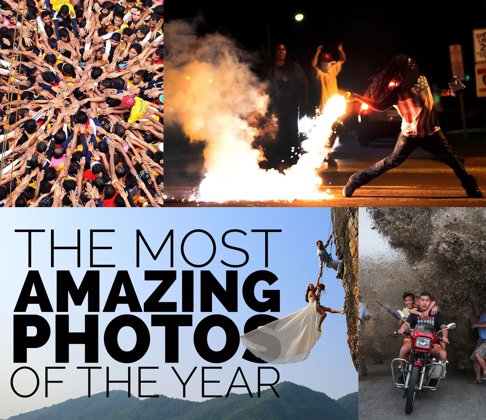 Most Amazing: 74 Of The Most Amazing News Photos Of 2014