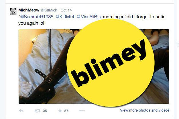 Tory Mp Favourites Graphic Tweet Of Naked Bondage Woman-9241