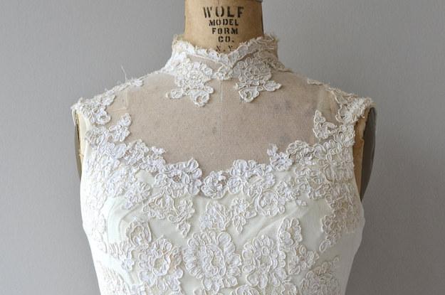 21 Vestidos De Novia Vintage Que No Acabarán Con Tu Cuenta