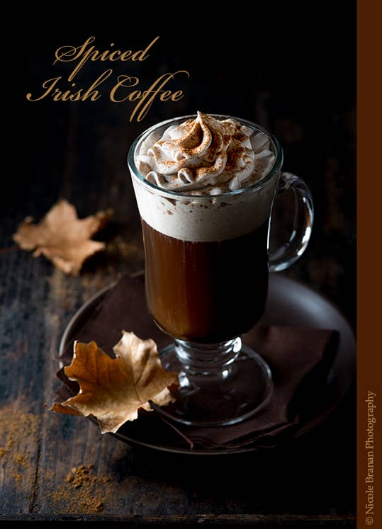 Whiskey + coffee: a perfectly acceptable way to start a cold winter day. Get the recipe.