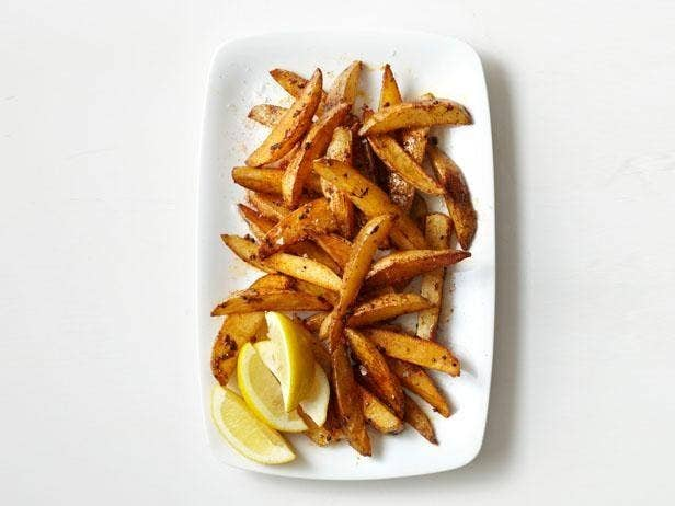 You can eat French fries without betraying your arteries; just bake them instead of frying. Also: Leave the skins on. There are a ton of nutrients in there. (Okay, yes, this is essentially roasted potatoes, but the skinny wedge shape really makes a difference!) Get an easy recipe here, baked sweet potato fries here, and if you really want to go wild, try these baked parmesan zucchini fries.