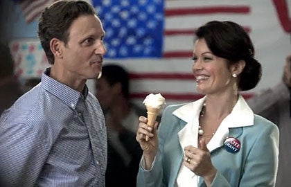 "Do you resemble President Fitz and Mellie from ""Scandal?"" Are you in love, or just posing for cameras to better your image? Some may be in the stagnation phase to better their careers or impression management. For example, if someone is in a negative romantic relationship, they may post photos of them as a ""happy couple"" for impression management purposes."