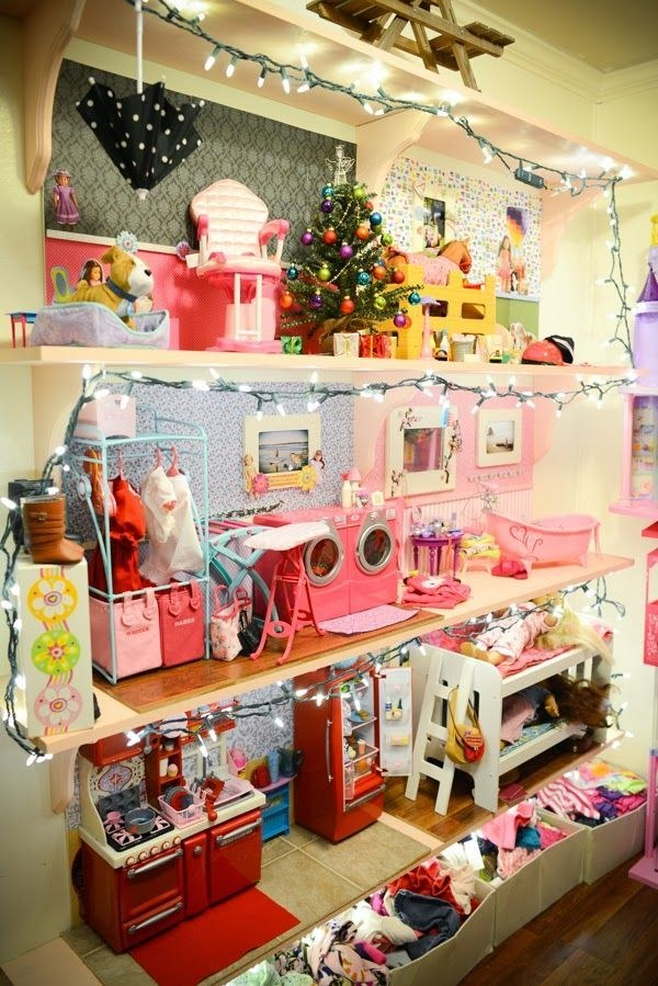 American girl house diy