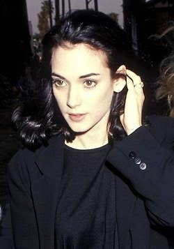 Aaaahhh, Winona. Her eyebrow game is the eyebrow game we all aspire to. Strong, but not overpowering.