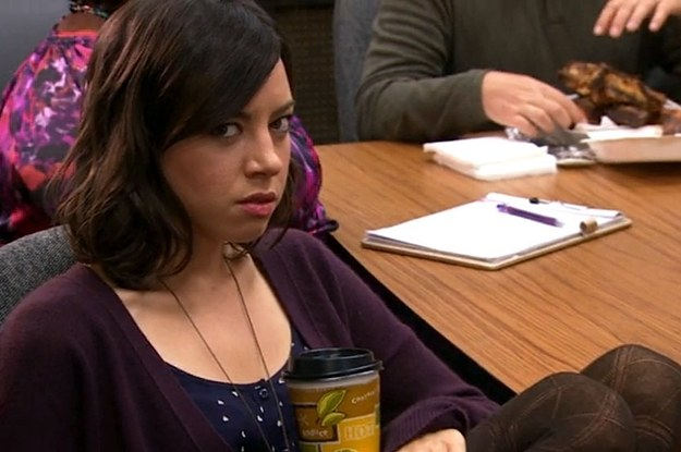 20 signs you might actually be april ludgate from parks and rec. Black Bedroom Furniture Sets. Home Design Ideas