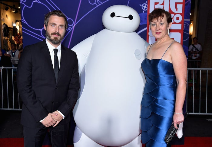 Feast director Patrick Osborne and producer Kristina Reed at the Los Angeles premiere of Big Hero 6 on Nov. 4, 2014.