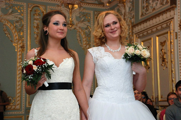 These Two Brides Were Allowed To Officially Marry In Russia