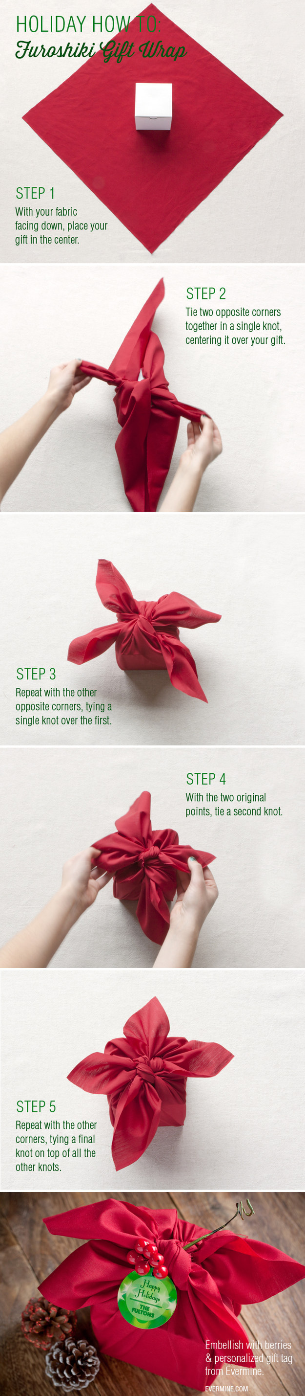 Gift wrap bow ideas for christmas