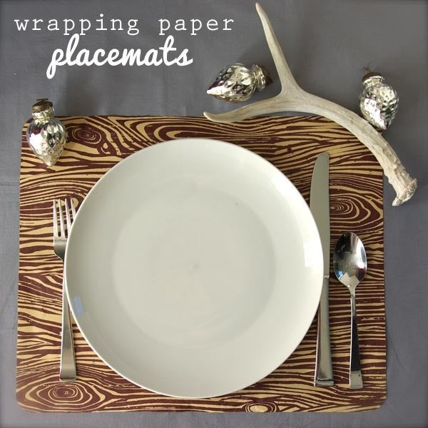 Vamp up a holiday, kid birthday party, or just everyday eating with this quick and easy placemat tutorial. Spill dribbled food over a variety of designs!