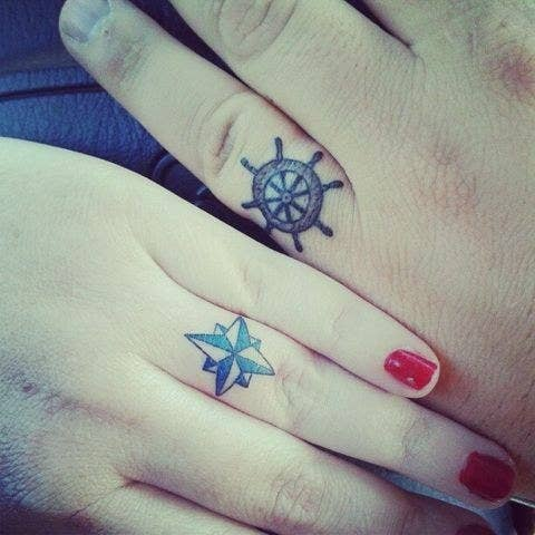 8 do the totally nautical thing - Wedding Ring Finger Tattoos