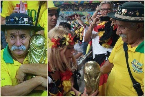 In which Brazil received a thrashing and Australians everywhere became insomniacs to see their favourite teams play...