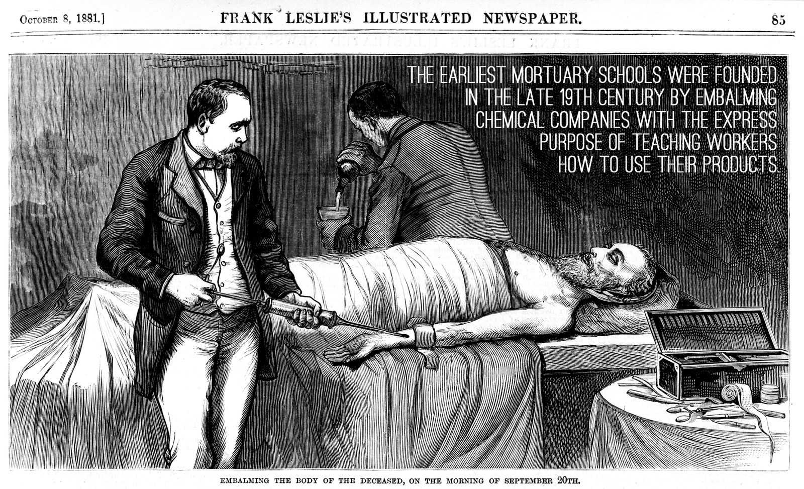 being a mortician essay High school education essay  many high schools have already been struggling to maintain their curriculum while being able to  and a mortician and mother a.