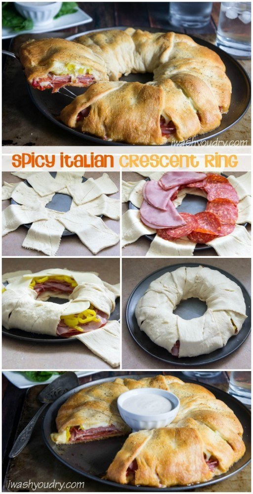 Easy calzone recipes crescent roll