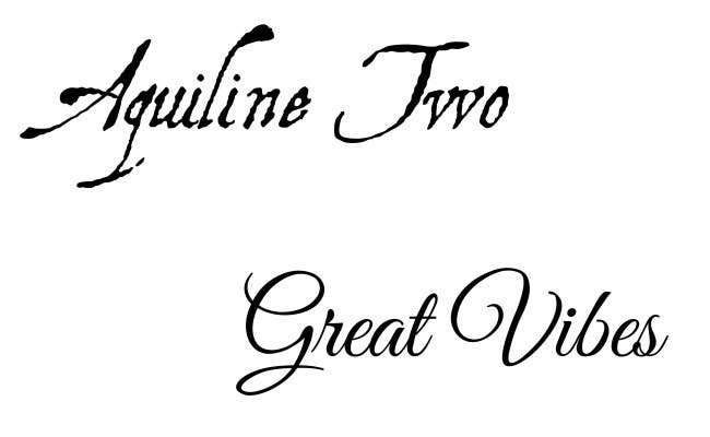 Try Aquiline Two Or Great Vibes