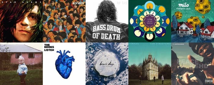 We've been actively searching out new music this year and have compiled a diverse list of albums that we think are the best representation of good music in 2014. It's all there, people -- the music we've cried to, the music we've jammed to, the music we've made out in the car to. Check it out: