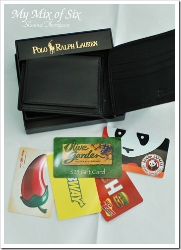 A Wallet Full o' Gift Cards