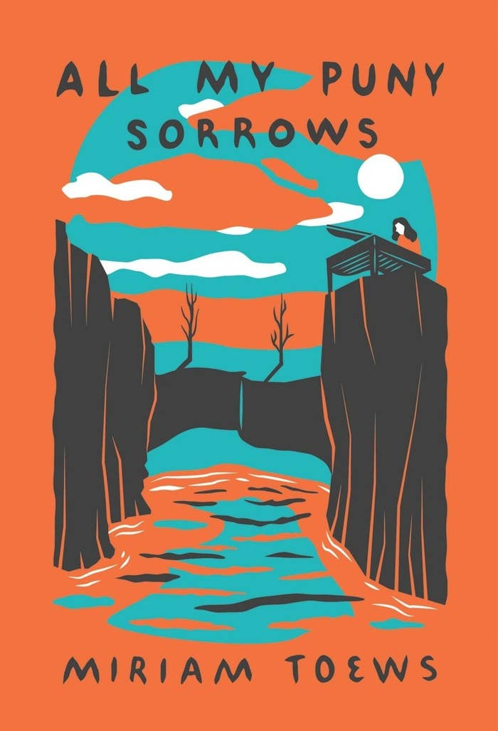 All My Puny Sorrows has a force that pulls you into the story and immerses you so completely that it's difficult to put the book down. Yoli's voice is honest and raw, telling Toews's semi-autobiographical story of heartbreak and loss, but her sharp wit helps take the edge off the pain. You will appreciate every page of this unforgettable novel.– Kim S.