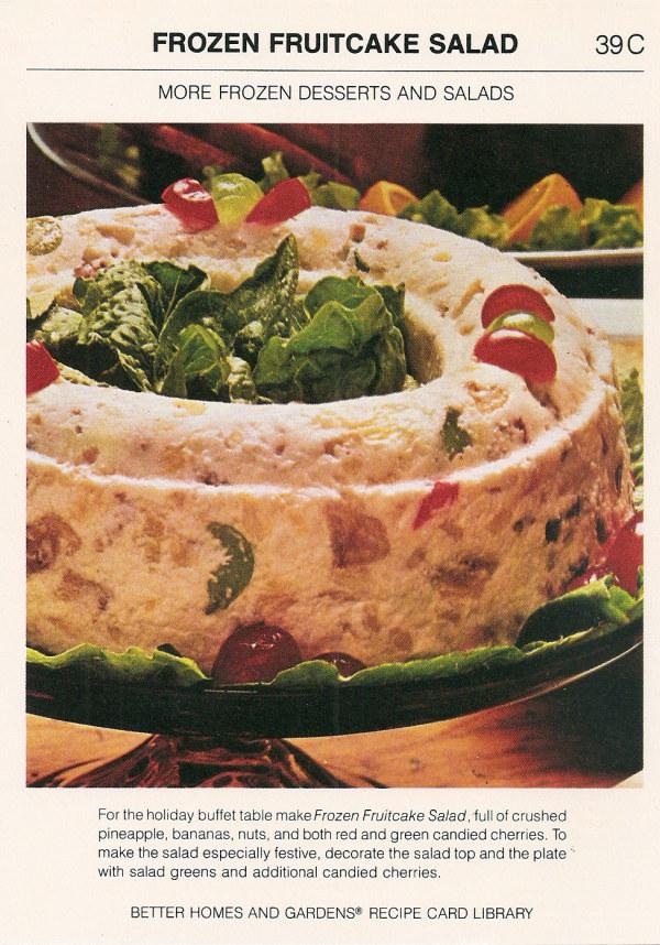 6. The Frozen Fruitcake Salad
