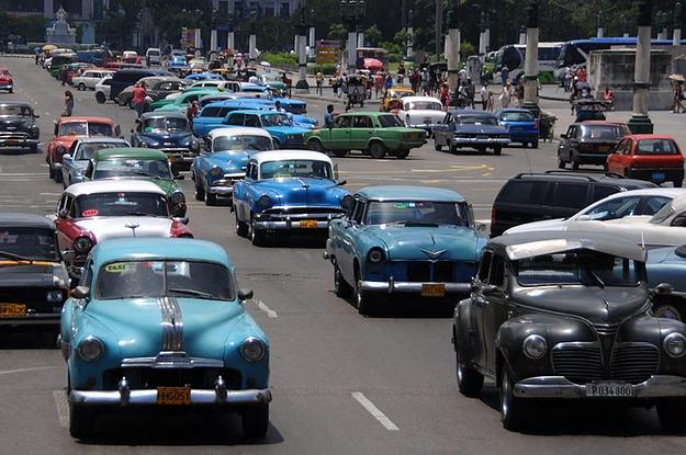 Classic Cars You Will Find In Cuba