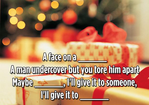 the hardest christmas lyrics quiz youll ever take