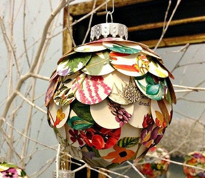 A great way to use up scrap paper or old magazines.
