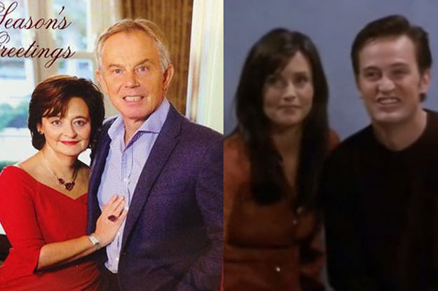 Tony Blair Released His Christmas Card And Twitter Responded ...