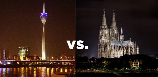 Köln Vs Düsseldorf
