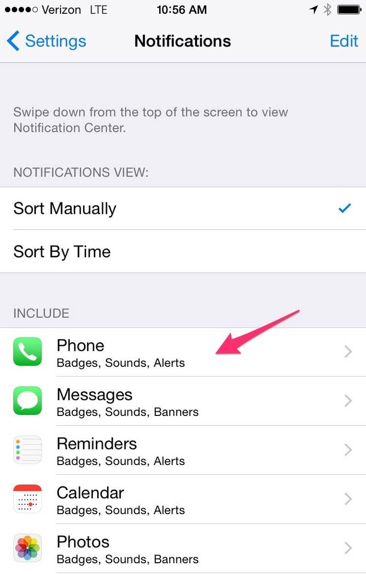 What does my phone number spell - In This Case I M Showing You How To Turn Off Notifications For Phone