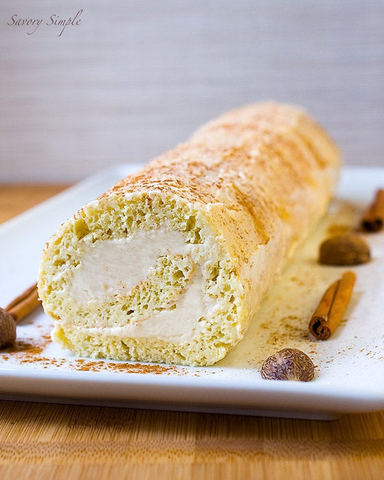 What is it about rolling up cake that makes it seem so much fancier? Get the recipe.