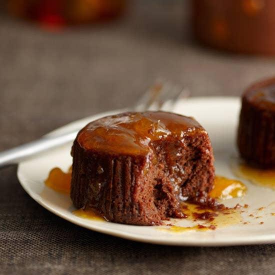 Very elegant little single-serving cake buddies. Get the recipe.