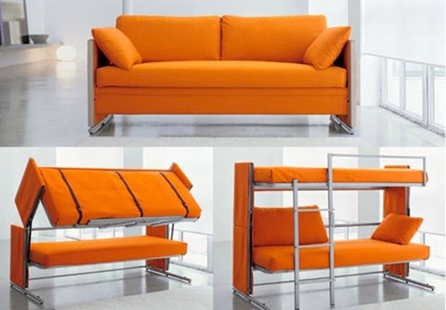 space saving furniture designs. wonderful designs 2 sofa bunk bed with space saving furniture designs